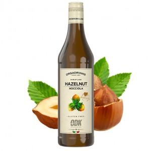 ODK Hazelnut (hazelnoot) siroop 0,75 L